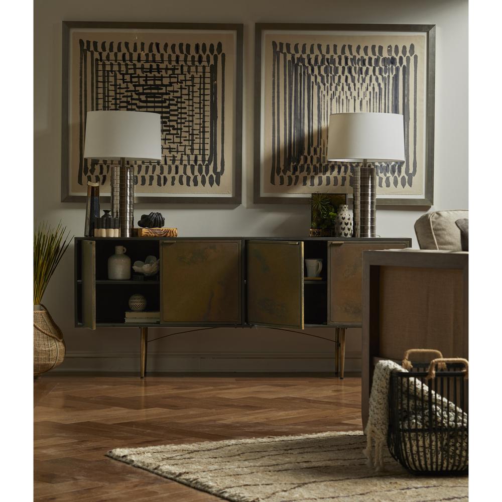Accentrics Home - Patina Metal Sideboard