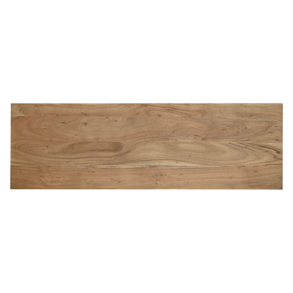 Accentrics Home - Live Edge Three Door Console