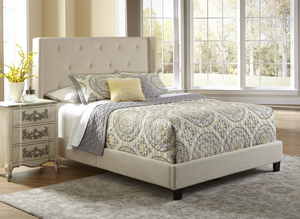 Thumbnail of Accentrics Home - Queen All-in-One Fully Upholstered Shelter Bed