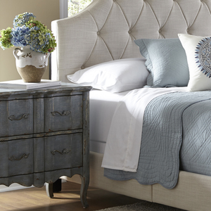 Thumbnail of Accentrics Home - Queen All-in-One Fully Upholstered Bed