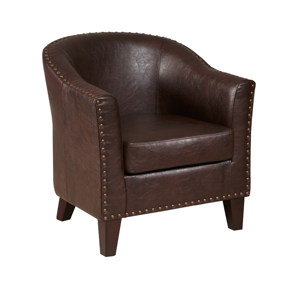 Accentrics Home - Barrel Accent Chair