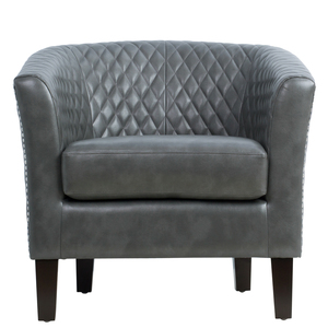 Thumbnail of Accentrics Home - Quilted Barrel Accent Chair