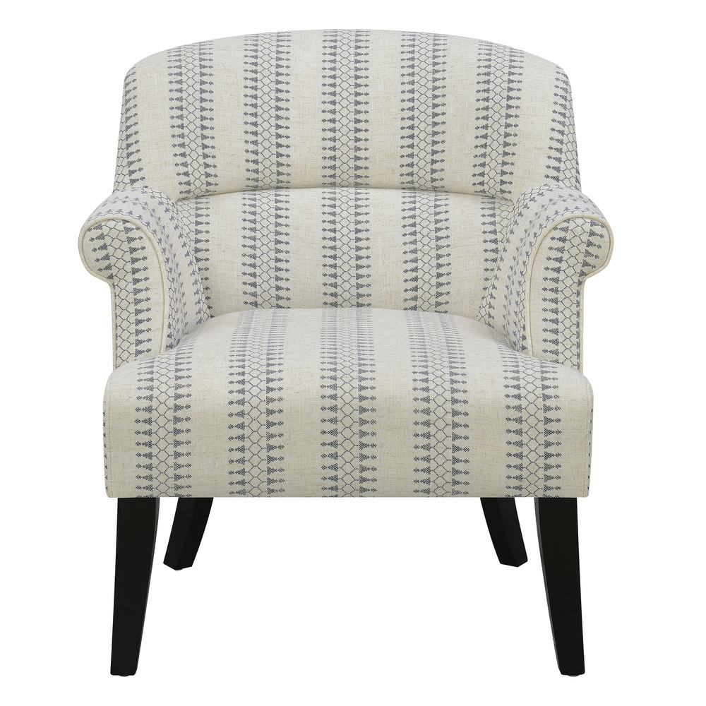 Accentrics Home - Roll Arm Accent Chair