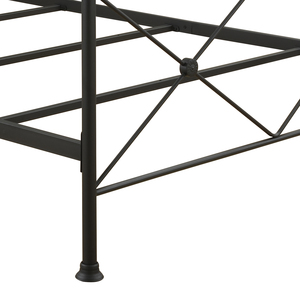 Thumbnail of Accentrics Home - Queen All-in-One Black Metal Bed