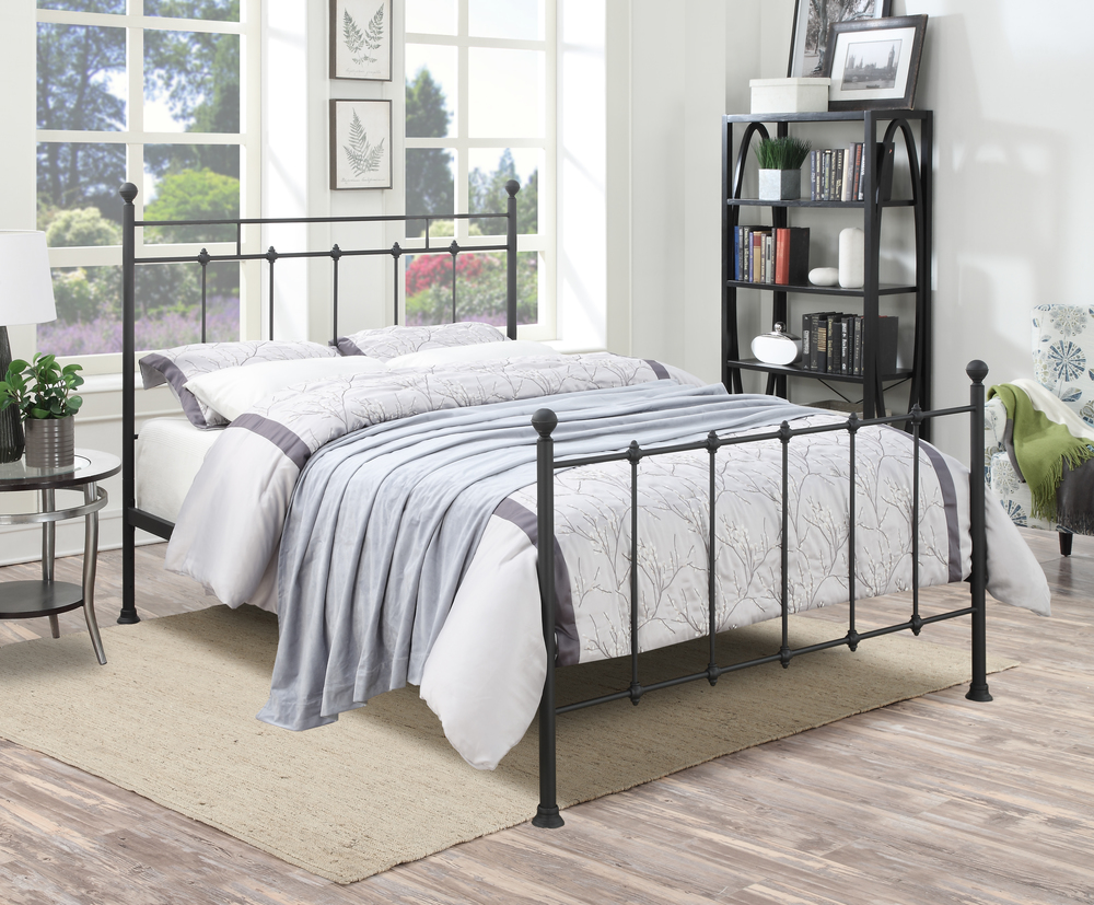 Accentrics Home - Queen All-in-One Shaker Metal Bed