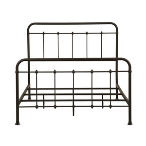 Thumbnail of Accentrics Home - Queen All-in-One Curve Metal Bed
