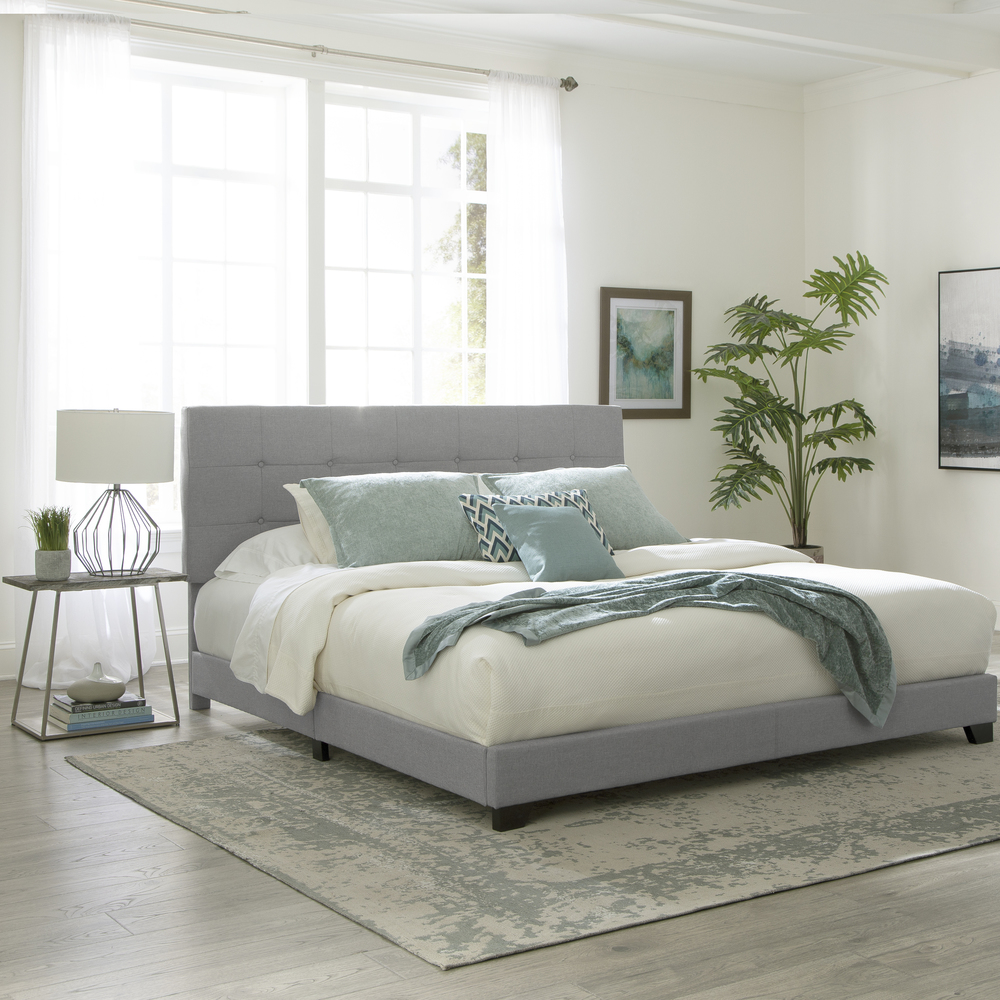 Accentrics Home - King Upholstered Bed