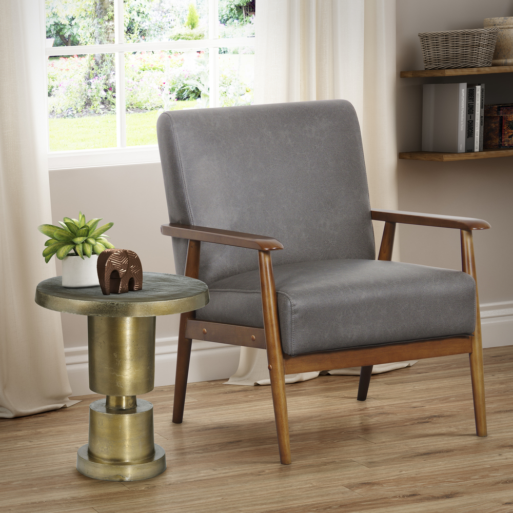 ACCENTRICS BY PULASKI - Wood Frame Accent Chair