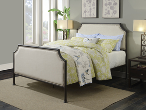 Thumbnail of Accentrics Home - Queen One Box Metal Bed