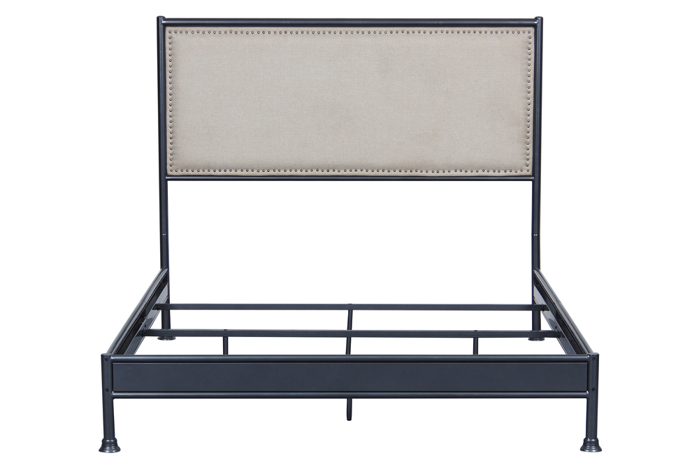 Accentrics Home - Queen One Box Metal Bed