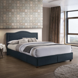 Thumbnail of Accentrics Home - Queen USB Charging Queen Storage Bed, Navy