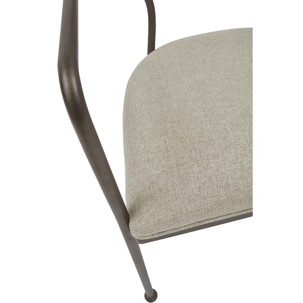 Accentrics Home - Oval Back Dining Chair
