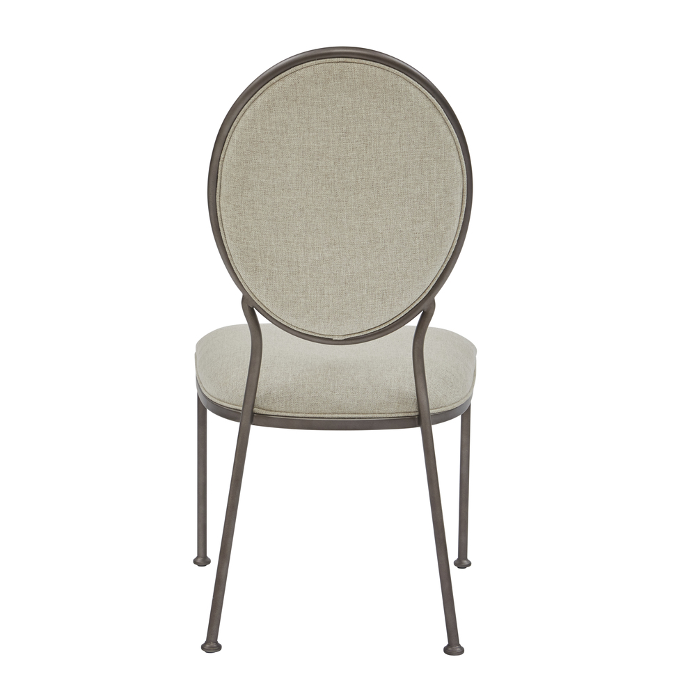 Accentrics Home - Oval Back Dining Side Chair