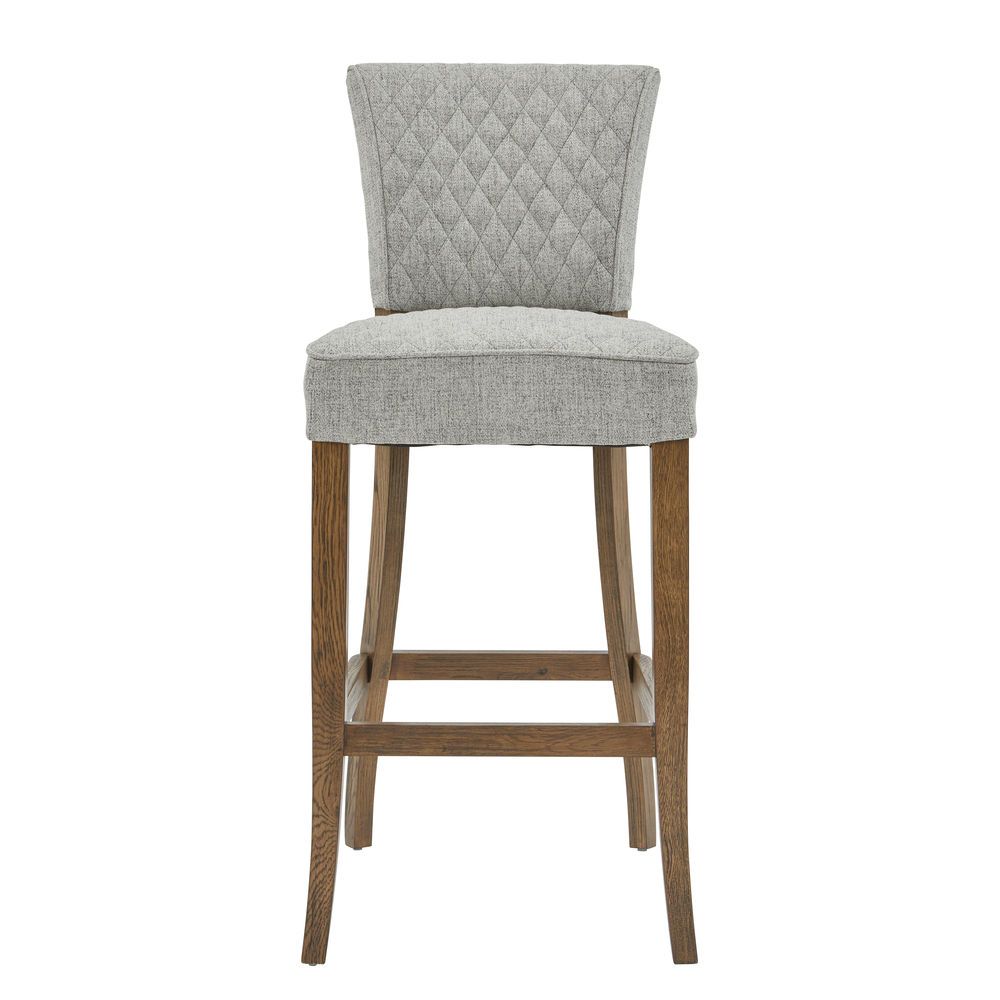 Accentrics Home - Quilted Bar Stool