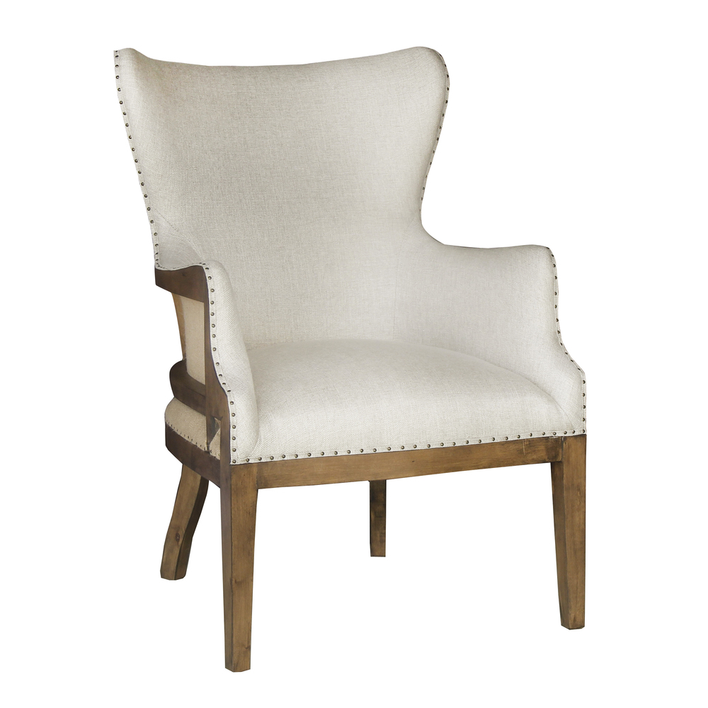 Accentrics Home - Curved Back Arm Chair