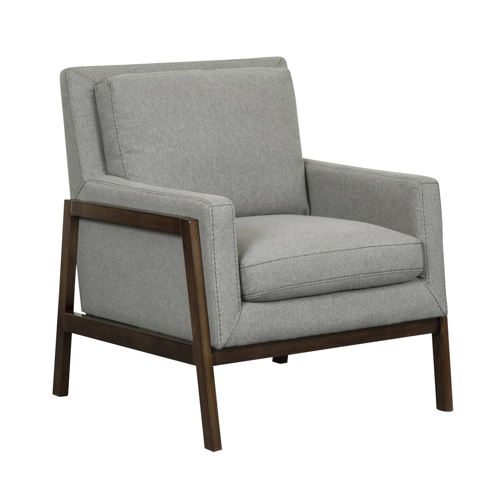 Accentrics Home - Wood Frame Accent Chair