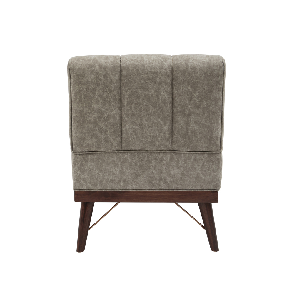 Accentrics Home - Wood Base Accent Chair