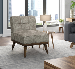 Thumbnail of Accentrics Home - Wood Base Accent Chair