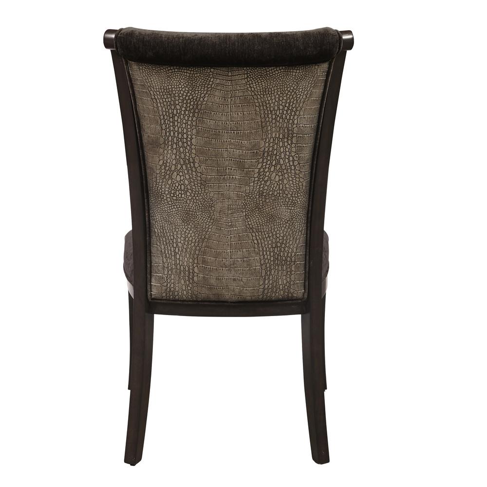 Accentrics Home - Croc Side Chair, 2/carton