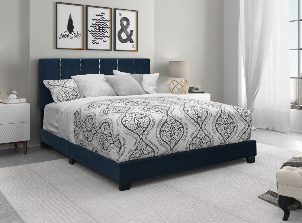 Accentrics Home - Queen Vertical Channel Bed