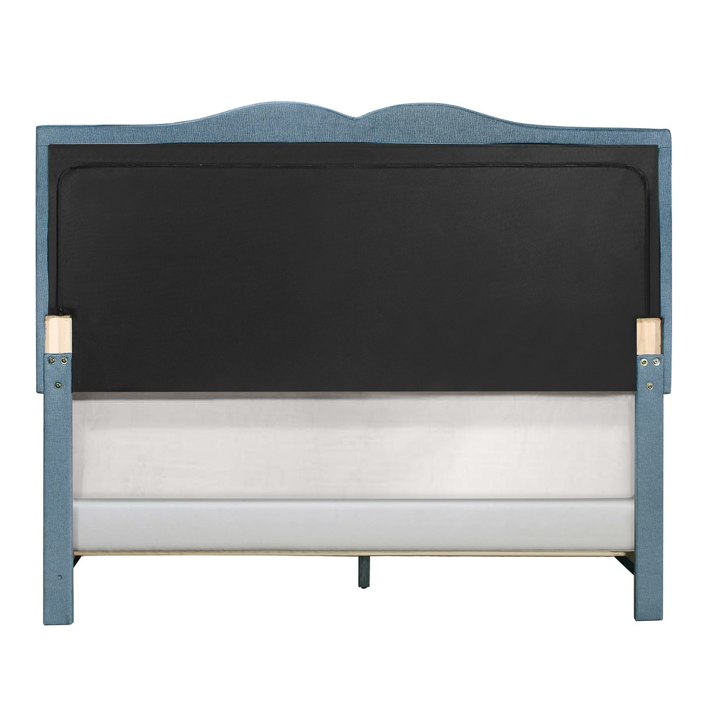 Accentrics Home - Queen One Box Double Nail Trim Bed