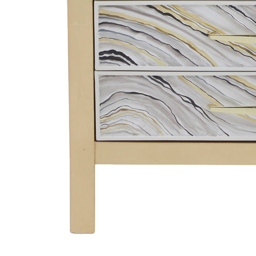 Accentrics Home - Agate Painted Accent Chest