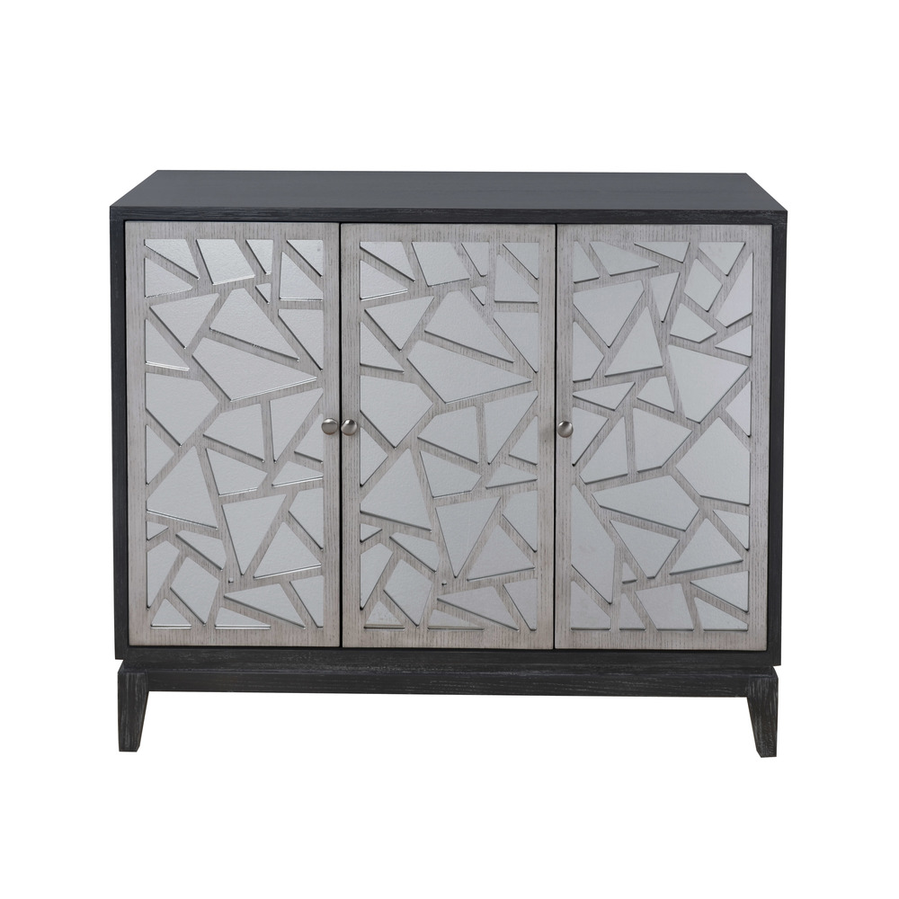 Accentrics Home - Two Tone Fragment Console