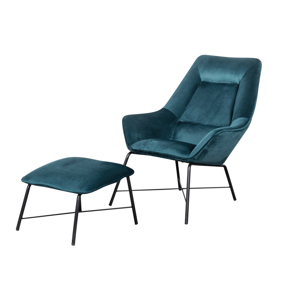Accentrics Home - Chair and Ottoman