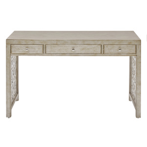 Thumbnail of Accentrics Home - Silver Three Drawer Desk