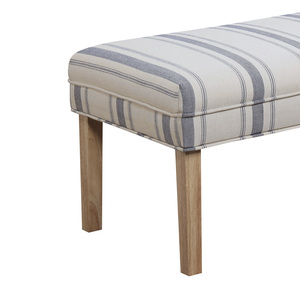 Thumbnail of Accentrics Home - Striped Upholstered Bench