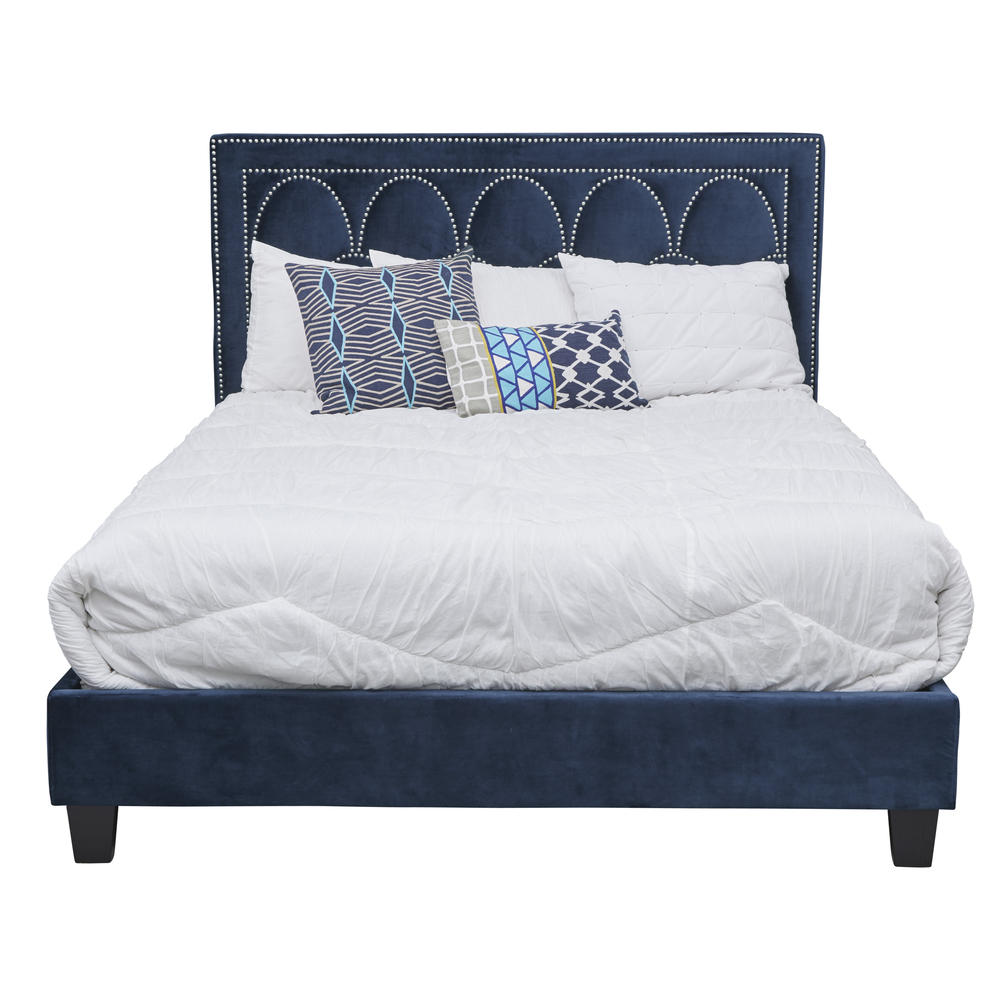 Accentrics Home - Queen One Box Nail Pattern Bed