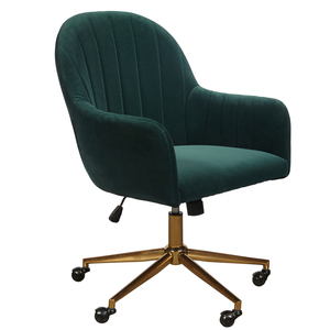 Thumbnail of Accentrics Home - Emerald Channeled Back Office Chair