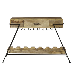 Thumbnail of Accentrics Home - Metal Frame Wine Console