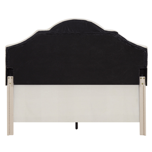Thumbnail of Accentrics Home - Queen One Box Saddle Back Bed