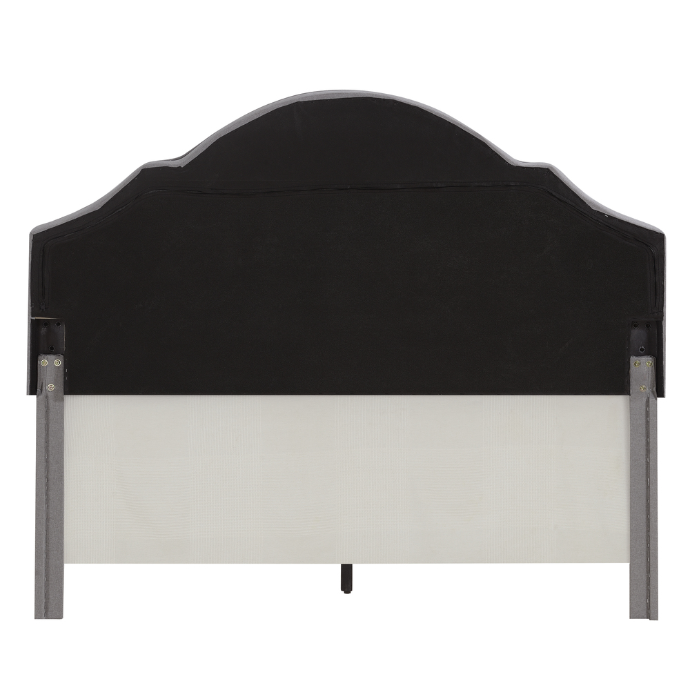 Accentrics Home - Queen One Box Shaped Back Bed
