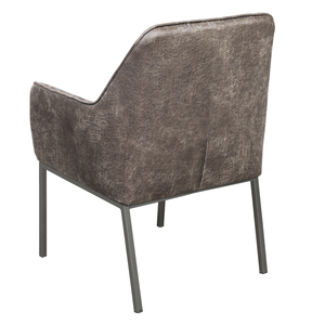 Thumbnail of Accentrics Home - Gray Metal Leg Arm Chair