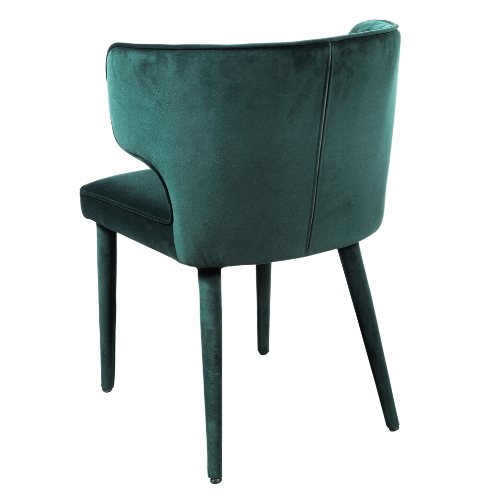 Accentrics Home - Emerald Shelter Back Dining Chair