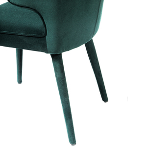 Thumbnail of Accentrics Home - Emerald Shelter Back Dining Chair