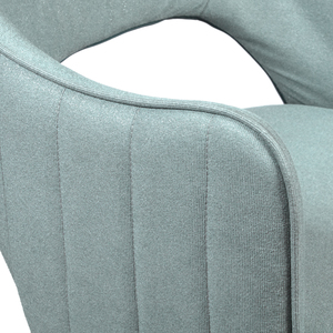 Thumbnail of Accentrics Home - Light Blue Channel Back Dining Chair
