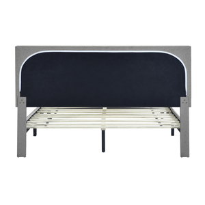 Thumbnail of Accentrics Home - Queen Mid-Century Button Platform Bed