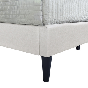 Thumbnail of Accentrics Home - Queen Shaped Nail Trim Platform Bed
