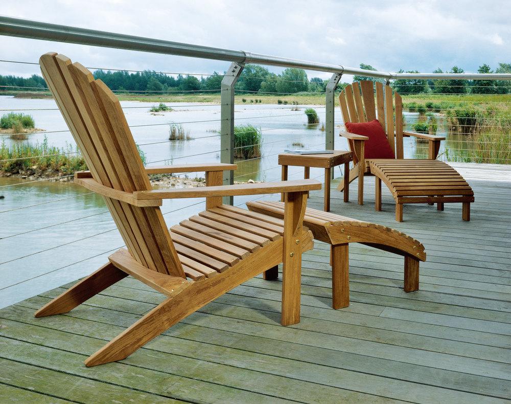Barlow Tyrie - Adirondack Teak Arm Chair