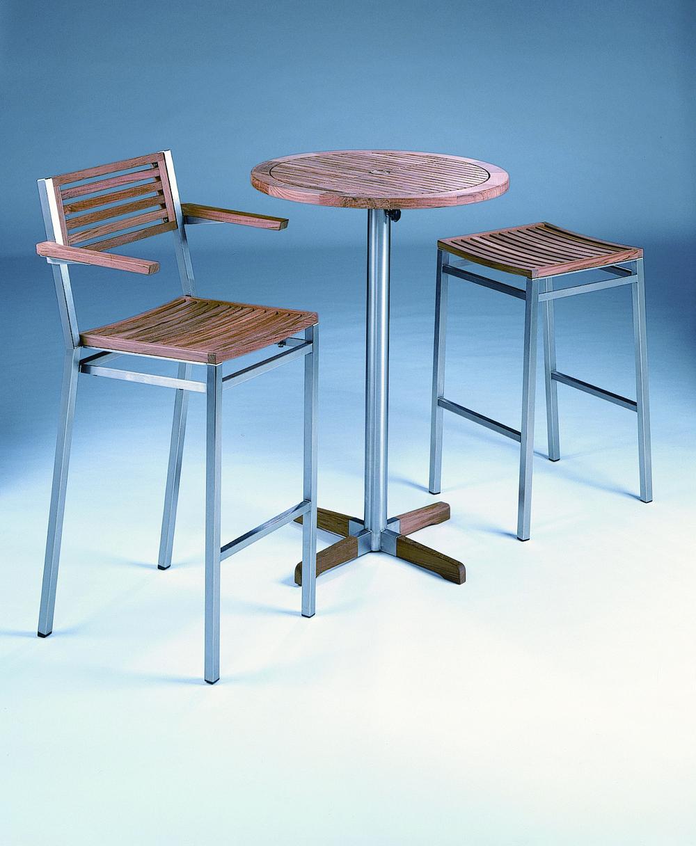Barlow Tyrie - Equinox High Dining Stool