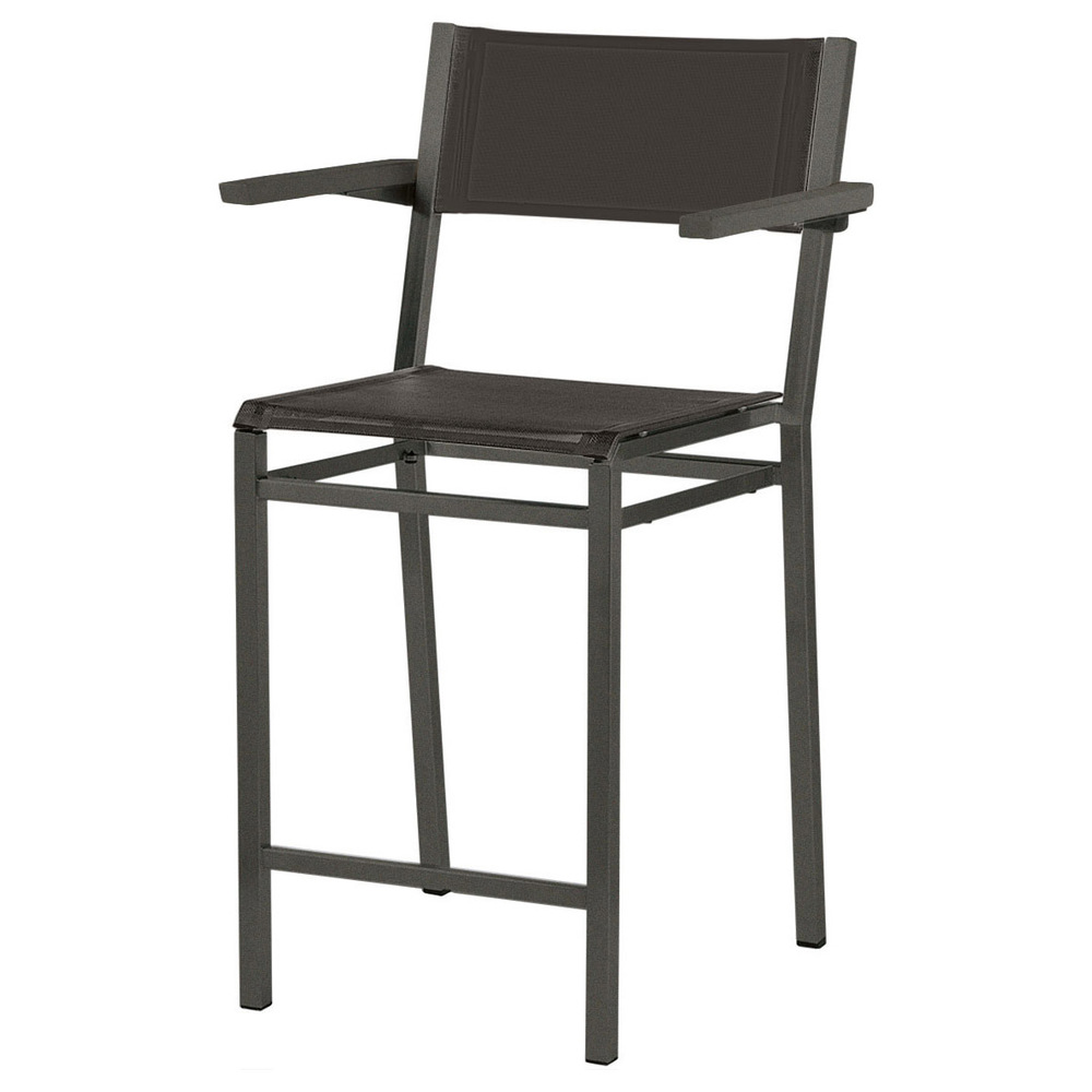 Barlow Tyrie - Equinox Painted Counter Height Arm Chair