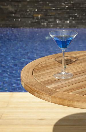 Thumbnail of Barlow Tyrie - Equinox Circular Pedestal High Dining Table
