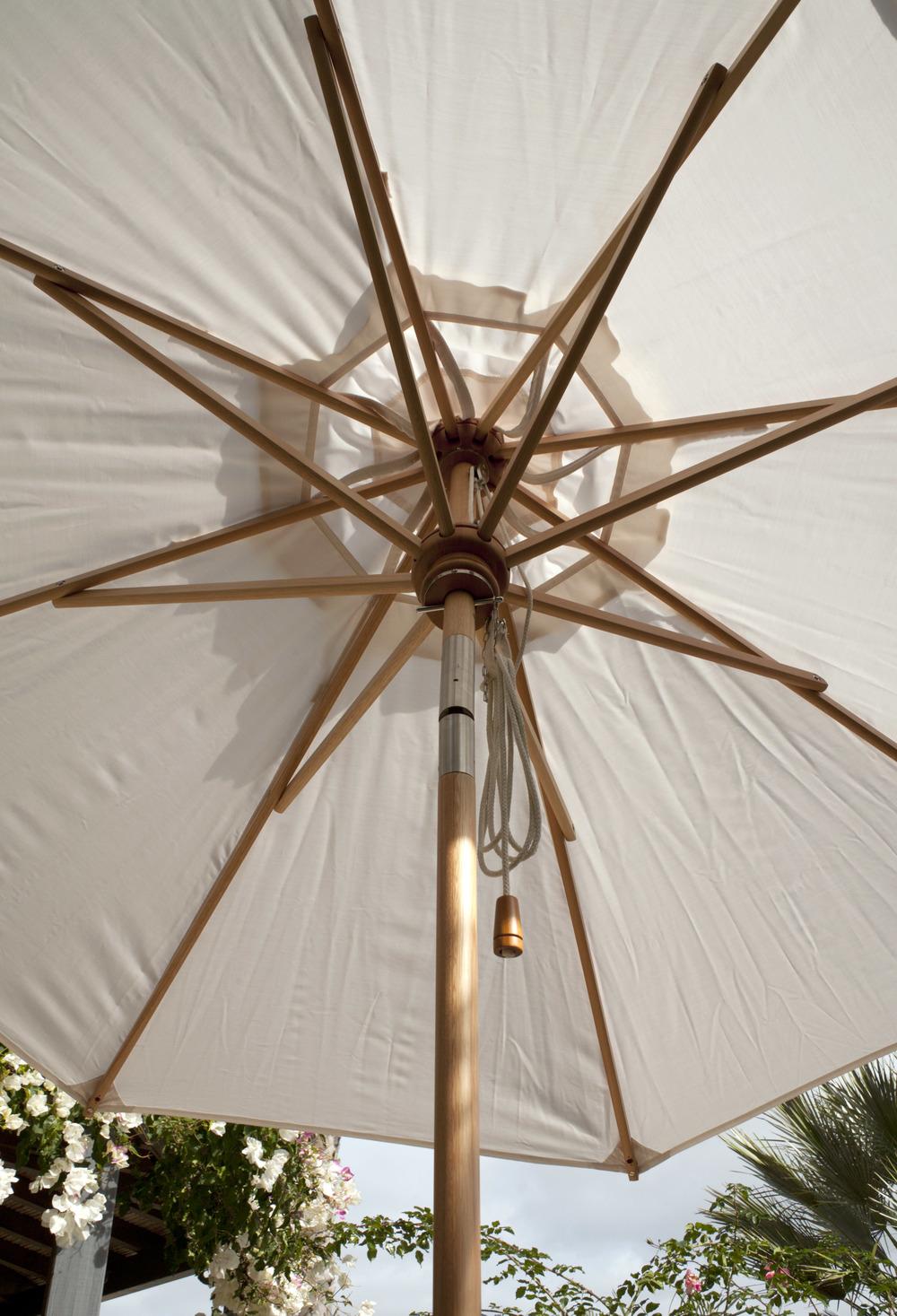Barlow Tyrie - Napoli Circular Parasol with Tilt