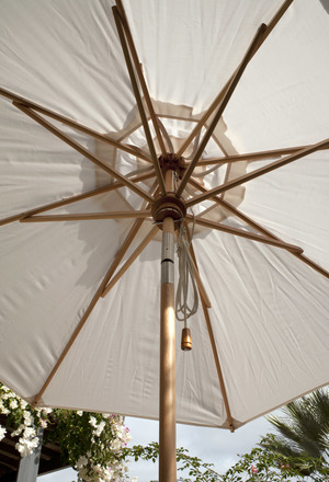 Thumbnail of Barlow Tyrie - Napoli Circular Parasol with Tilt