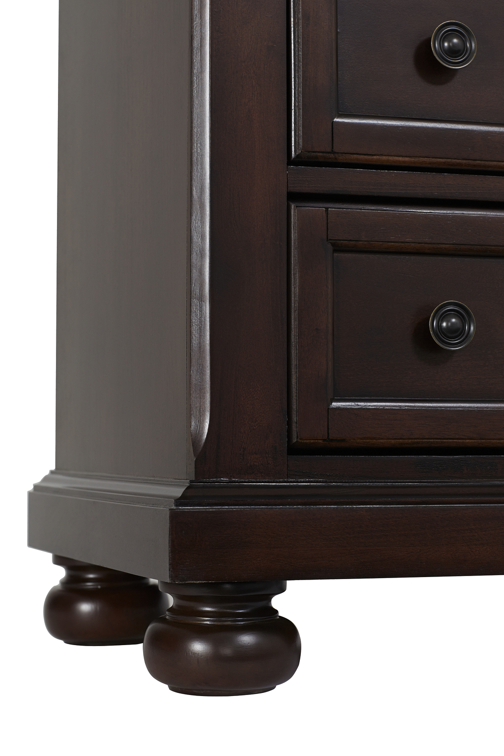 Heritage Baby Products - 6 Drawer Chest Rosewood