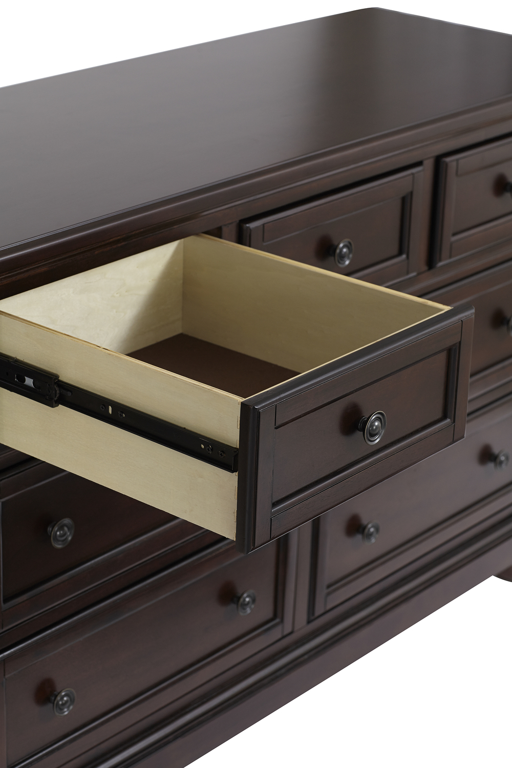 Heritage Baby Products - 7 Drawer Dresser Rosewoood