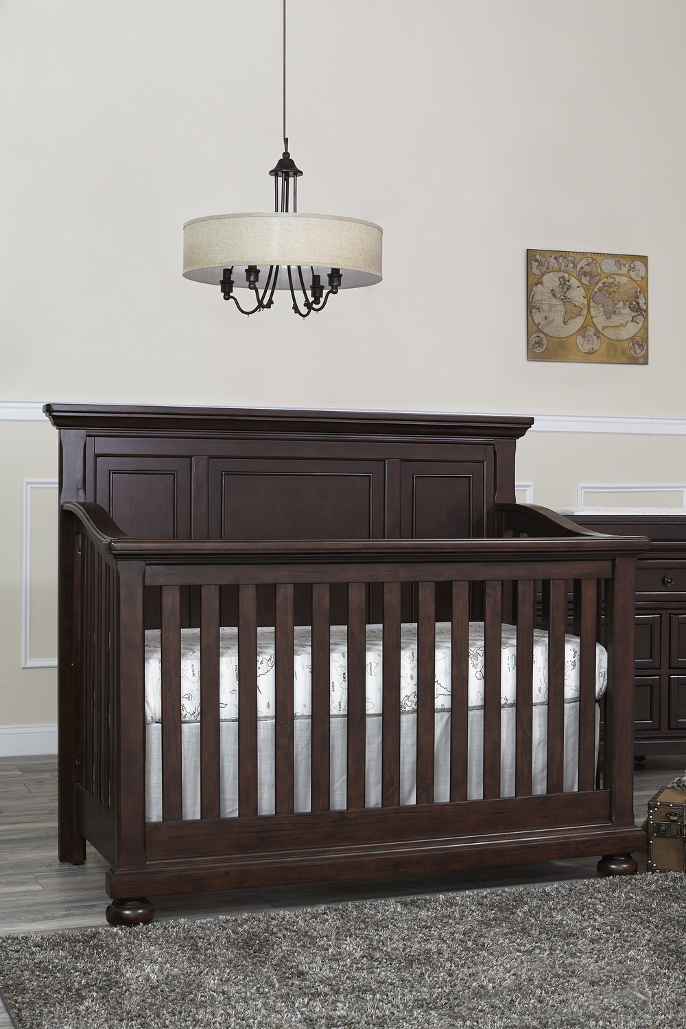 Heritage Baby Products - Crib Rosewood